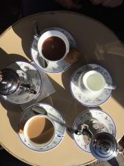 Cafe Creme and Chocolat Chaud