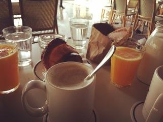 Breakfast en Terrace